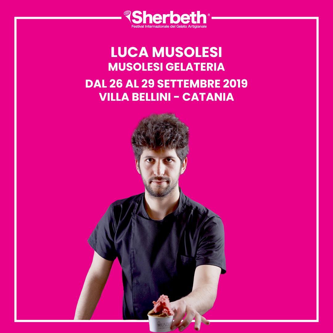 Sherbeth Festival 2019 Catania - Musolesi Italian Gelato